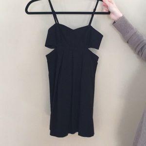 Cutout Black dress